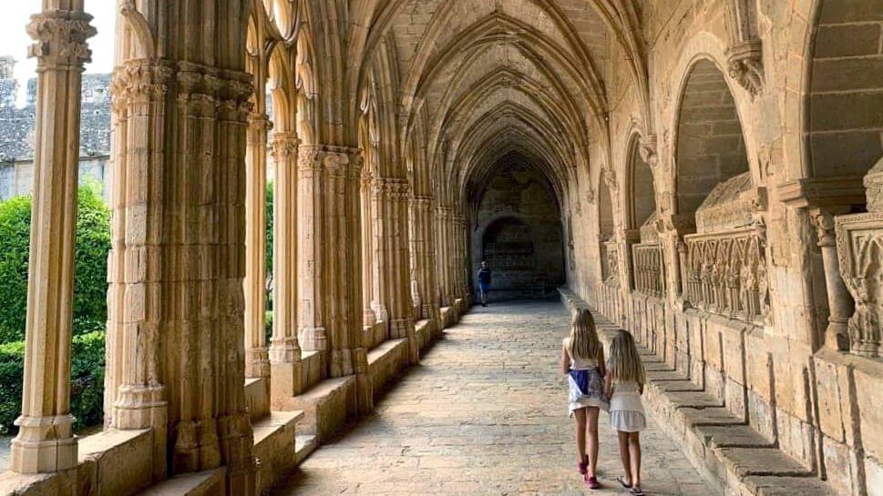 Cister monastery Santes Creus, try also Poblet and Vallbona